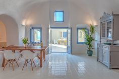 Luna Santorini Suites is proudly located high on the island's medieval village of Pyrgos, offering panoramic views of the island, the Aegean blue and the famous Santorini sunsets.