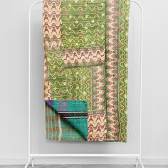 Kantha Quilt Mr Squiggle by Fossik