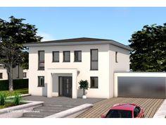 Moderne häuser walmdach  Trend Pergola: Stadtvilla von RENSCH-HAUS GMBH | HausXXL ...