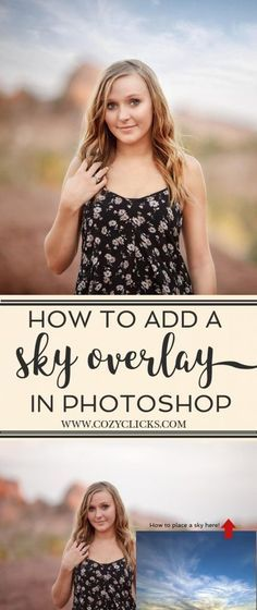 How to Easily Add a Sky Overlay In Photoshop. Easy to follow step by step instructions for adding a sky overlay to your photo. Plus see a video tutorial!
