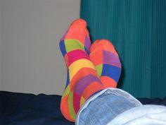 Men's Multi-Colored Checkered Socks,