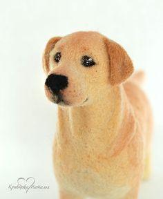 *NEEDLE FELT ART ~ Игрушки животные, ручной работы. Ярмарка Мастеров - ручная работа Валяная игрушка Джесси. Handmade.