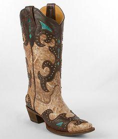 Corral El Paso Cowboy Boot - Women's Shoes   Buckle