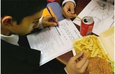 Availability of junk food in schools encourages obesity, study finds