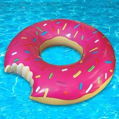 Poolside yoga with Paige starts at *Donut float optional. Pool Floats For Adults, Sprinkle Donut, Pool Accessories, Top Toys, Summer Is Here, Cool Pools, Cool Gifts, Donuts, Sprinkles