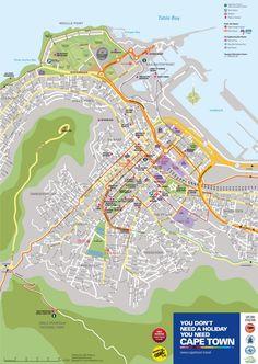 Cape Town MyCiTi bus map Maps Pinterest Bus map Cape town and
