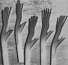 Alvar Aalto Wood Alvar aalto experiments with Alvar Aalto, How To Bend Wood, Bent Wood, Bending Wood, Wood Architecture, Arch Model, Built Environment, Detail Art, Wood Sculpture