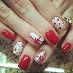 Diy, Nails, Beauty, Aurora, Flower, Xmas, Finger Nails, Bricolage, Ongles