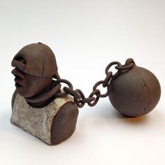 """"""" Svigermors drøm """" / Mama´s boy Stentøjsbrændt/stoneware, by Helle Duus Weiss, hdw.dk"""