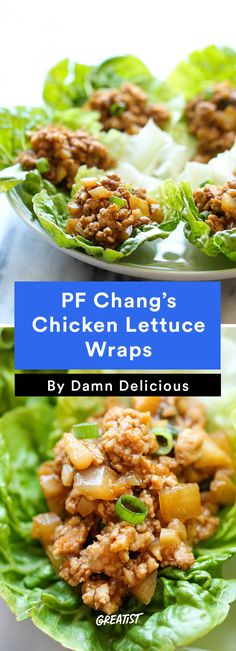 3. P.F. Chang's Chicken Lettuce Wraps #healthy #quick #dinners http://greatist.com/eat/healthy-dinner-ideas-in-30-minutes-or-less