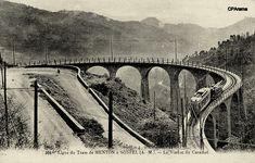 Le Viaduc du Caramal et la Vallée du Careï Locomotive, Monuments, Tramway, Dupont, Caves, Historical Photos, Bridges, Miniatures, Architecture