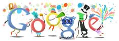 Google Greets Us With Happy New Year ! Happy New Year Everybody !