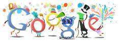 Doodleando, Los Logos de Google: Adios, auf Wiedersehen, ciao, au revoir, good bye, さようなら, до свидания. Despedimos al 2012... Y damos la bienvenida al 2013…