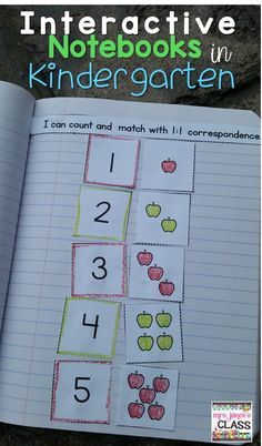 Math Notebook for Kindergarten BUNDLE: Daily entries for a YEAR Interactive notebooks in Kindergarten?Interactive notebooks in Kindergarten? Preschool Math, Kindergarten Classroom, Kindergarten Activities, Teaching Math, Interactive Notebooks Kindergarten, Kindergarten Anchor Charts, Interactive Journals, Math Math, Preschool Journals