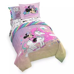 Minnie Mouse Unicorn Dreams Comforter Set – Full | shopDisney