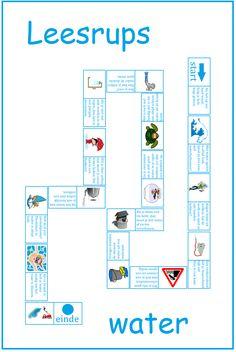 Leesrups water. Goed te gebruiken bij Lijn 3, thema 12. Study, School, Poem, Middle, Studio, Studying, Research