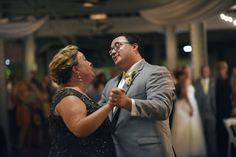 Groom dancing with Mom. :) #grinningfromeartoear Photo: Cathy A. Lyons