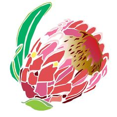 Protea Cleaning & Recycling - Home Sketch Drawing Images, African Drawings, Picture Templates, Protea Flower, Stencil Art, Stencils, African Flowers, Zentangle Drawings, Mosaic Designs