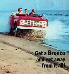 Image result for vintage 1967 ford bronco