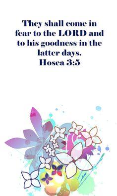 Hosea 3:5