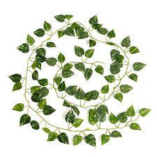 Artificial Ivy Leaf Green Garland Vine Foliage 2M Home Wedding Party Decoration