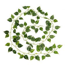 Artificial Ivy Leaf Green Garland Vine Foliage 2M Home Wedding Party Decoration