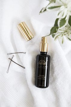 Strangely addicting, the uplifting scent of neroli, bergamot, lavender and myrrh adds a sweet smelling sparkle to hair.  A luxurious necessity, it cheers up the saddest hair day, hydrates and restores life and energy, and smells so exquisite its use should by no means be restricted to just the tresses. #TabithaJamesKraan #BeautyHeroes #Hair #greenbeauty