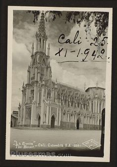 Cali, Colombian Art, Spanish Pronunciation, Taj Mahal, Memories, Travel, World, Vintage Postcards, Antique Photos
