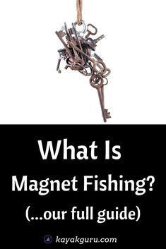 What Is Magnet Fishing? What equipment do you need to get started? Where can you go fishing with magnets? Is it even legal? Read our guide on all things magnet fishing to find out more and discover magnet fishing finds. Pike Fishing Tips, Walleye Fishing Tips, Bass Fishing Tips, Fishing Videos, Fishing Tools, Fishing Gifts, Carp Fishing, Fishing Tackle, Ice Fishing
