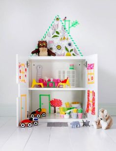 After: DIY Doll House  - HouseBeautiful.com