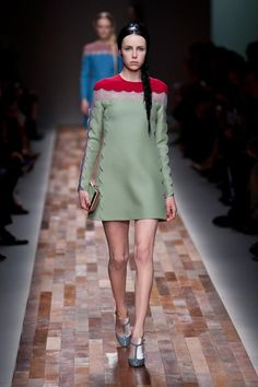 I am so in love with this little Valentino dress!