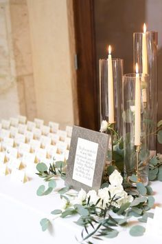 Glass Hurricane Tubes for Candlesticks – 12 Your wedding flowers are actually a fundamental part of your wedding ceremony. Before you decide, there happen to [. Elegant Wedding, Perfect Wedding, Rustic Wedding, Dream Wedding, Fall Wedding, Church Wedding, Decor Wedding, Wedding Simple, Wedding Table Centerpieces
