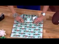 SYSK Wrapping Od JUST WANTED TO SHARE THIS...IT'S AMAZING...MAKE YOUR OWN GIFT BAGS FOR ODD SHAPED GIFTS...CHECK IT OUTd Gifts