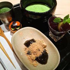 Japanese sweets set