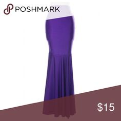 Purple Mermaid Skirt Hello ❤️❤️ Thanks For Viewing This Item. I Used To Own A Boutique And Now Everything Must Go.  Item Info:  💎 Brand New/With Or Without Tags 💎 Tight Fit // Fits True To Size  ✨All Offers Accepted✨  All Items are brand new and marked really low so please make a reasonable offer. Bundle To Get $$$ off.  All items ship same day  Follow Instagram.com/MontiMaa Skirts Circle & Skater