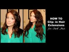 How To Clip In Hair Extensions Tutorial