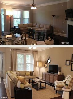 Ideas For Small Living Room Furniture Arrangements | Pinterest ...