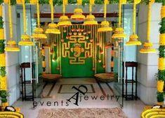 66 Ideas Wedding Decorations Reception Diy Entrance For 2019 Marriage Decoration, Wedding Stage Decorations, Diwali Decorations, Festival Decorations, Flower Decorations, Hall Decorations, Diy Wedding Reception, Wedding Mandap, Tamil Wedding