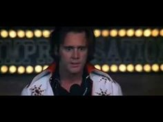 """Scene from """"Man on the Moon"""" -- Jim Carrey does a spot-on imitation of comedian Andy Kaufman."""