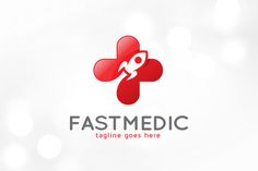 Fast Medic Logo Template by gunaonedesign on @creativemarket