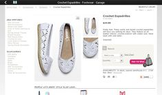 Crochet espadrilles! There's not much to say except for there fabulous!