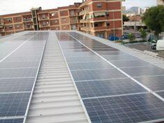 Copertura bonificata ed impianto fotovoltaico a tetto industriale
