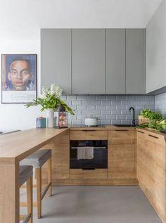70 Marvelous Tiny House Kitchen Design Ideas #kitchens #kitchenideas #kitchendesign