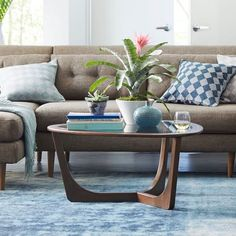 Also a nice option, also a little smaller than ideal. $349  Mitchell Coffee Table | west elm