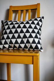 This Nifty Earth: DIY // Geometric Throw Pillow