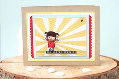 my sunshine {mama elephant stamp highlights}