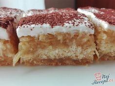Czech Recipes, Ethnic Recipes, Hungarian Cake, Toffee Bars, Pavlova, Sweet Life, Food Inspiration, Sweet Tooth, Deserts