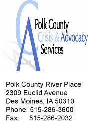 Polk County Crisis & Advocacy Services (PCCAS) is a division of the Polk County Department of Community, Family & Youth Services that provides assistance to victims of crime in Polk County regardless of race, gender, age, ethnicity, sexual orientation, physical or mental disabilities. PCCAS is a 2013 Nuestras Voces Conference plannning committee partner. Youth Services, Agent Of Change, Division, Conference, Physics, The Voice, Crime, Gender, Community