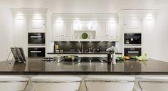 Elegant White Painted Kitchen – Tom Howley