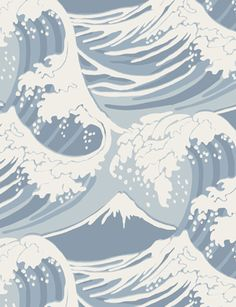 Great Wave wallpaper from Cole and Son